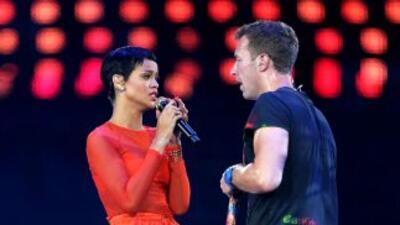 Rihanna y Chris Martin cantarán juntos otra vez