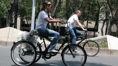 En Ciudad de México, la mejor aliada de una ciclista es otra ciclista