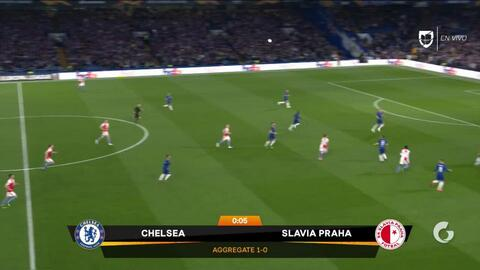 Highlights: Slavia at Chelsea on April 18, 2019