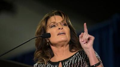 """Sarah Palin advierte a Trump de una """"masiva desilusión"""" si cancela su plan de deportación de indocumentados"""