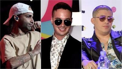 Mira la fiesta que armó J Balvin junto a estos reggaetoneros en Nueva York