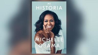 Esta es la cubierta de 'Mi historia', el próximo libro de Michelle Obama