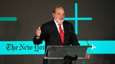 Carlos Slim se enriquece (aún más) con las críticas de Trump al New York Times