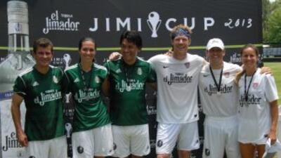 La segunda edición de la 'Jimi Cup' cumplió un sueño en pleno ambiente de fiesta