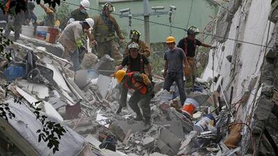 Residente de Ciudad México relata los momentos de angustia que se han vivido desde el terremoto de 7.1 de magnitud