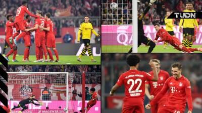 Bayern Múnich aplasta a Borussia Dortmund 4-0 en la Bundesliga
