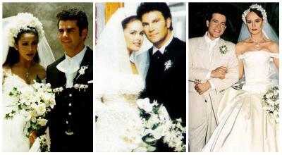 Las bodas más románticas de los actores de telenovela