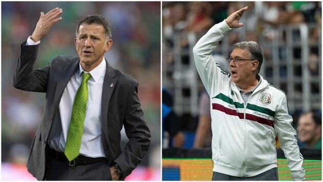 Comparativo entre Osorio y Martino antes de las goleadas sufridas