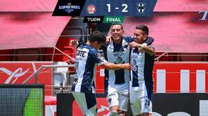 A golazos... Monterrey libra el 'infierno' y se afianza tercero
