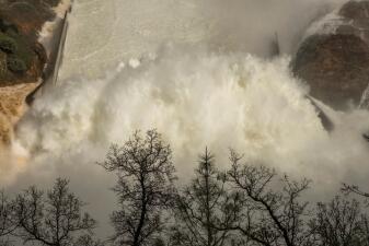 La crisis de la represa Oroville explicada en imágenes