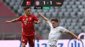 Bayern se atora ante el Unión Berlín previo a la vuelta contra el PSG
