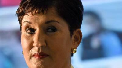 La ex fiscal general de Guatemala, candidata presidencial y solicitada por la justicia en un mismo día