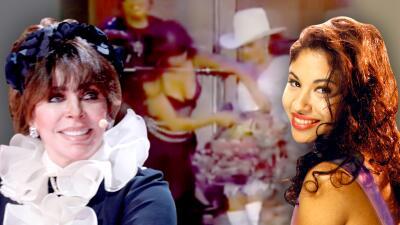 Verónica Castro recuerda el regalo que le hizo Selena Quintanilla, a 24 años del asesinato de la reina del Tex Mex