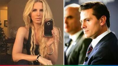 Cacharon a Peña Nieto con la que podría ser su nueva novia