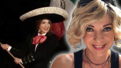 Viudo de Edith González difunde un video de la actriz vestida de charra para celebrar a México