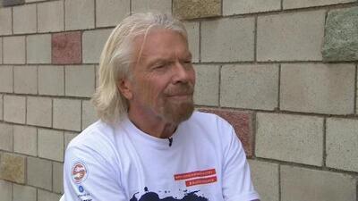 """Entrevista a Richard Branson: """"Si los soldados dejan que (la ayuda) entre, sería algo maravilloso"""""""