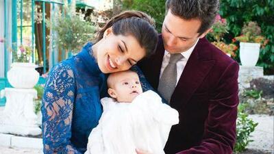 SYP Al Instante: Bárbara Coppel y Alejandro Amaya bautizaron a su hija como una verdadera princesa