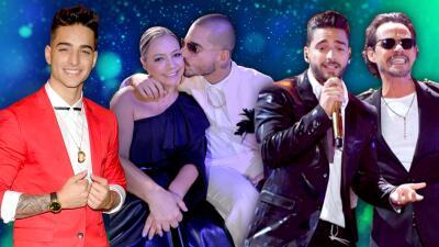 Los besos de Maluma en el escenario de Premios Juventud y otras aventuras de su paso por la premiación