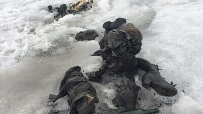 Hallan los cuerpos de una pareja desaparecida hace 75 años en un glaciar de Suiza