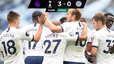 Un doblete de Kane hace soñar al Tottenham con Europa League