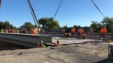 Cierre de la autopista 99: así avanza la remodelación del puente de 21st Avenue