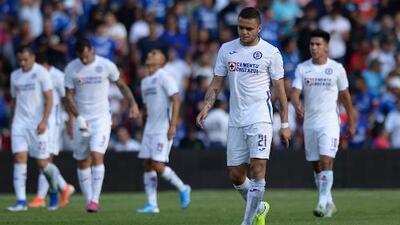 Cruz Azul: Rodríguez, baja por lesión y Angulo por cita consular