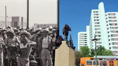 Los Ángeles abrirá una nueva plaza dedicada a los inmigrantes con una estatua en reconocimiento a los braceros