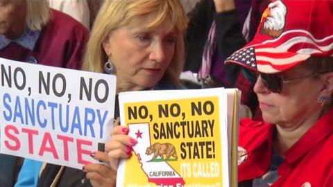 Apoyan en San Diego la demanda que presentó el gobierno Trump contra California por política santuario
