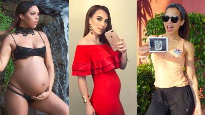 Ellas son las bellezas latinas que están a punto de dar a luz