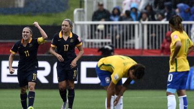Brasil cae sorpresivamente ante Australia y es eliminado del Mundial Femenil