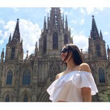 Fabiola Guajardo presume sus vacaciones por Europa