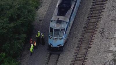 Una mujer permanece grave, pero estable tras haber sido impactada por un tren en Opa-locka