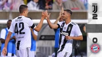 Favilli lideró triunfo de la Juventus sobre Bayern Múnich