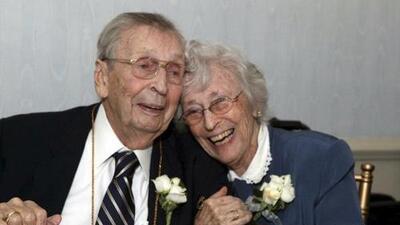 Estuvieron casados 78 años y murieron con solo dos días de diferencia