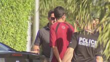 En video: El momento en que la policía arresta al sospechoso de robar un banco en Hialeah