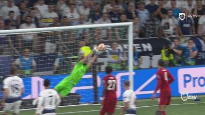 ¡Qué cerca! Alisson le quitó el empate al Tottenham