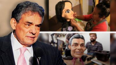 Creadores de la piñata de Sarita Sosa y de la máscara de José José cuentan qué hay detrás de sus obras