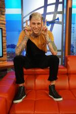 Machine Gun Kelly Gets Comfortable Inside the Uforia Lounge