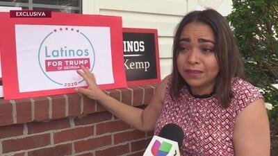 EXCLUSIVA: Divisiones internas fracturan movimiento Latinos for Trump en Georgia