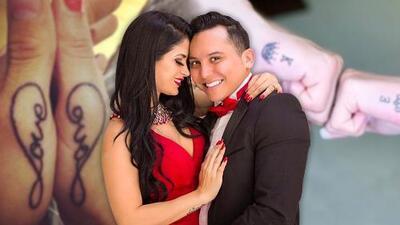 Tras borrar tatuaje de Alma Cero, Edwin Luna ahora se hace tatuajes con su nueva esposa