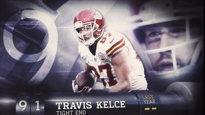 Top 100 Jugadores 2016: Lugar 91, Travis Kelce