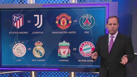 'Paco' Villa analiza los emparejamientos de Octavos de Final de la Champions League