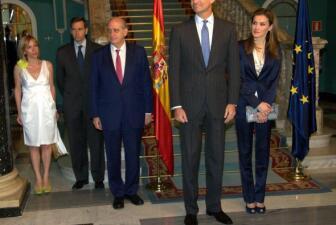 FOTOS: Felipe VI con víctimas del terrorismo