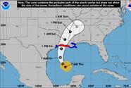 Tras tocar tierra en México el huracán Delta vuelve a ser un categoría 2 mientras avanza por el Golfo rumbo a Louisiana