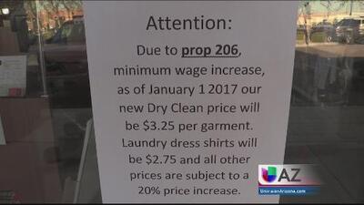 Negocios anuncian aumento en sus precios ante el incremento del salario mínimo