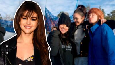 Selena Gómez reaparece sonriente, pero aún no está lista para regresar al trabajo