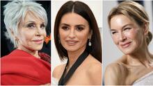 Fuera la careta: las famosas muestran con orgullo sus arrugas e imperfecciones en los Oscar