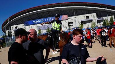 Británico detenido por intentar ingresar droga a Final de Champions