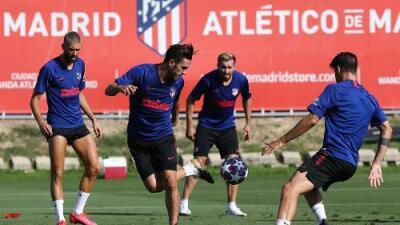 Atlético de Madrid confirma dos casos de COVID-19 a días de jugar en las Champions League