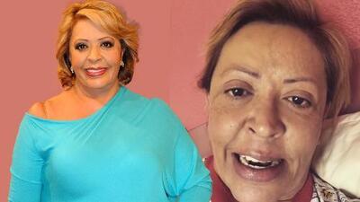 Verónica Gallardo fue operada de emergencia, pero ya salió del hospital